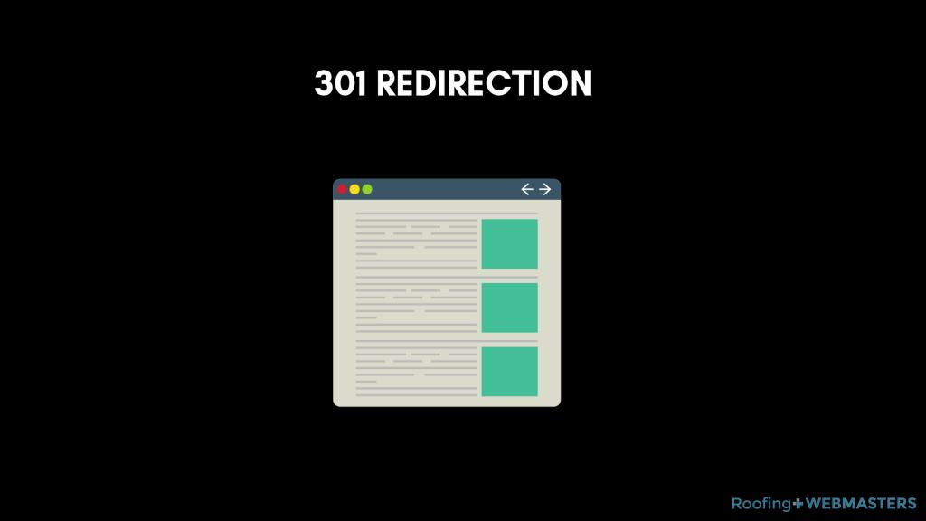 301 Redirect Graphic