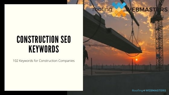 Construction SEO Keywords