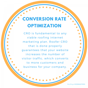 CRO Is Fundamental To Any Viable Roofing Internet Marketing Plan. Roofer CRO That Is Done Properly Guarantees That Your Website Increases The Number Of Visitor Traffic, Which Converts to More Customers And Business For Your Company.