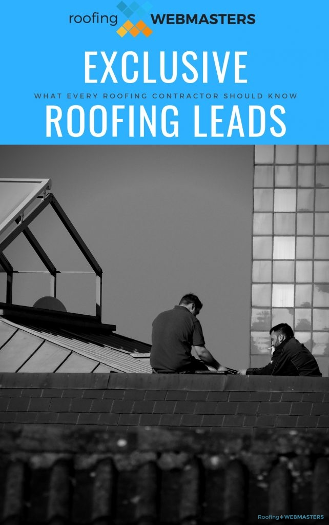 Exclusive Roofing Leads Cover Art