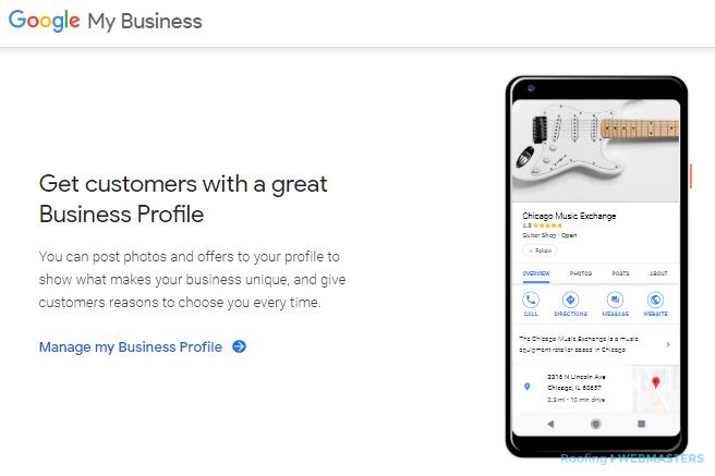 Online Marketing Tool GMB