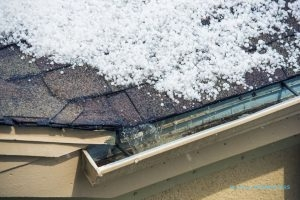 Hail Storm Affects Area