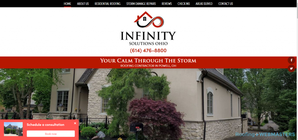 Infinity Solutions Website