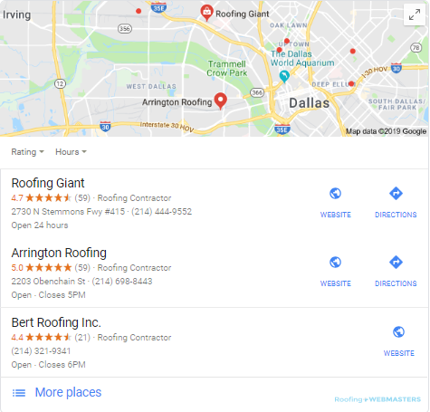 Google Maps For Roofers Updated For 2019 Roofing