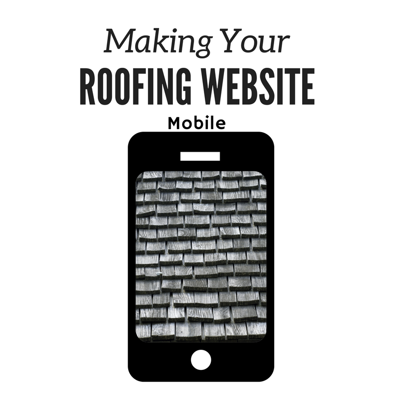 Making Your Roofing Website Mobile