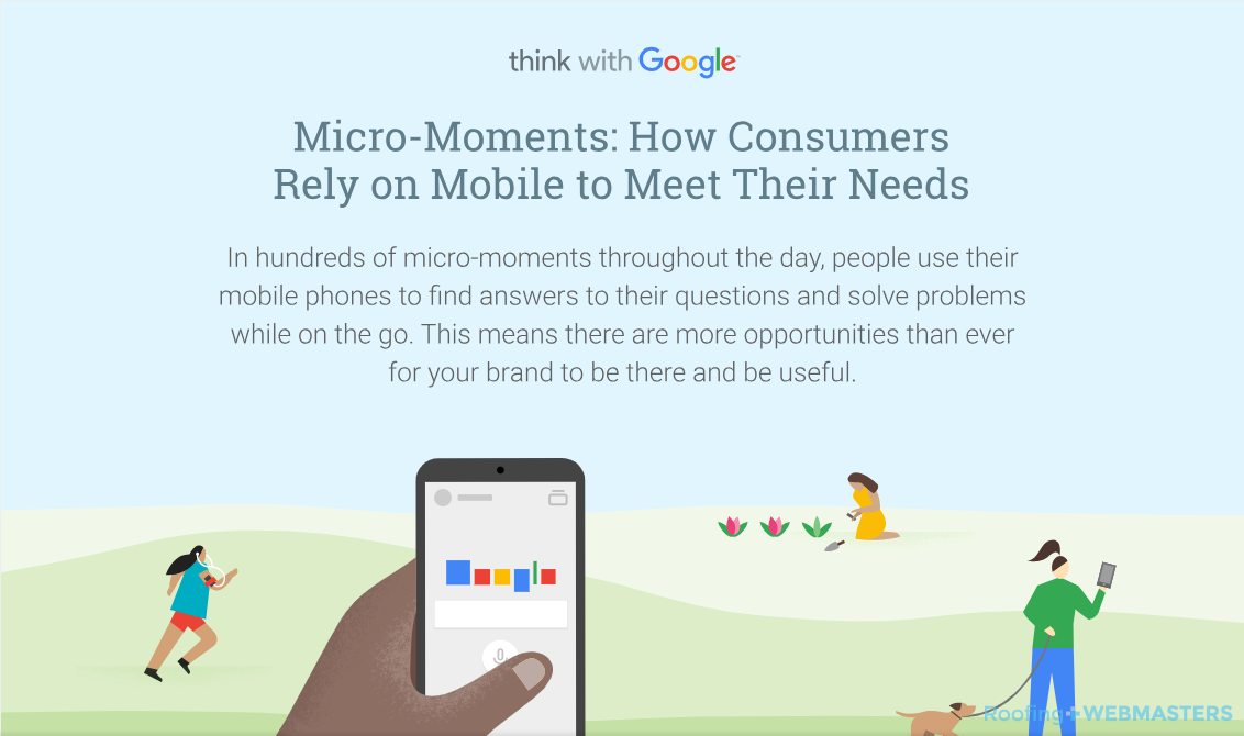 Micro Moments Consumer Mobile Needs