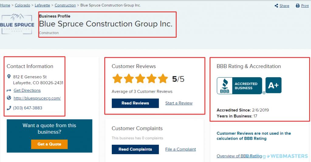 NAP Citation for Construction