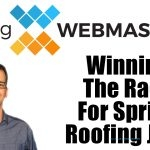 Race for Spring Roofing Leads Podcast Card