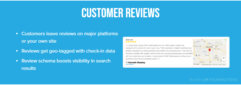 Geotagged Reviews, One of Many Important Roofing SEO Changes