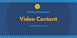 Roofer Video Content Graphic