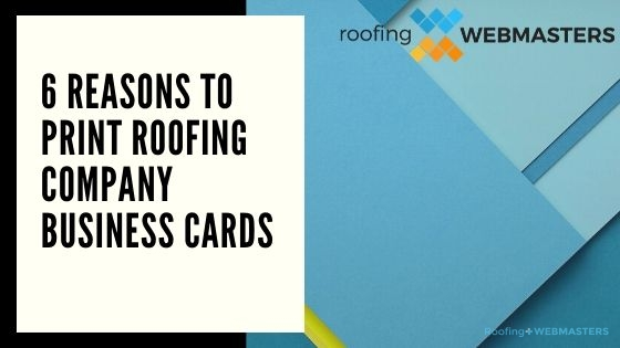 Roofing Company Business Cards Blog Banner