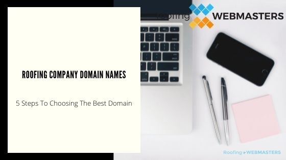 Roofing Company Domain Name