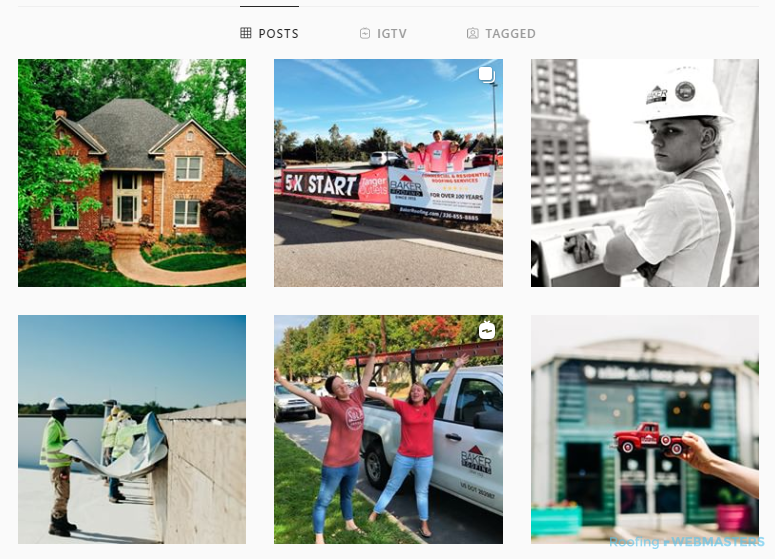 A Commercial Roofing Company Instagram Profile