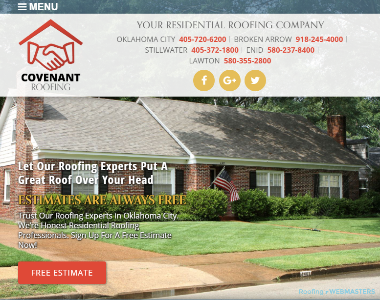 Website SEO for Roofers