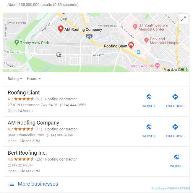 Ranking #1 on Google Through Map Listings