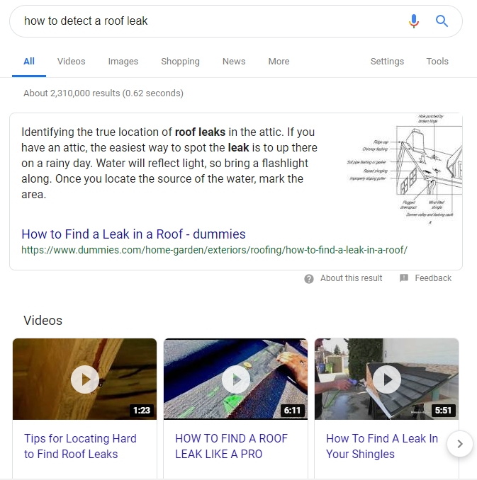 Ranking #1 on Google Through a Snippet