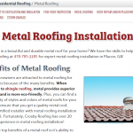 Metal Systems Page Talks About Energy-Efficient Roofing