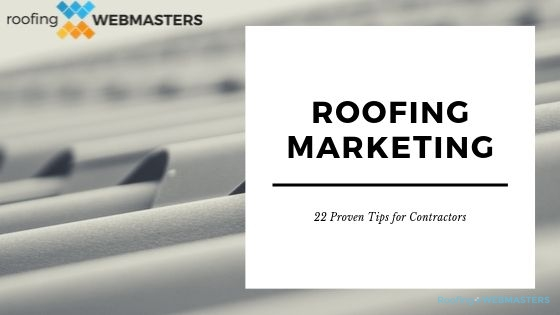 Roofing Marketing Banner
