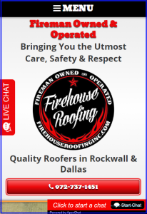 Mobile Design for Roofing Websites