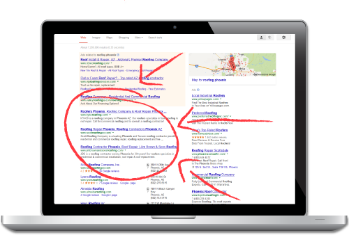 Organic SEO for Roofing Companies