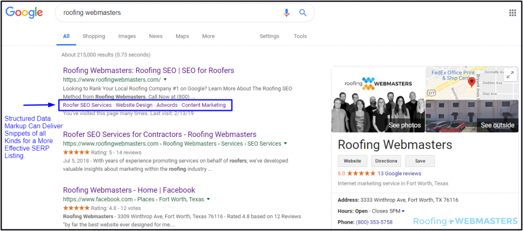Structured Data Markup for Roofing