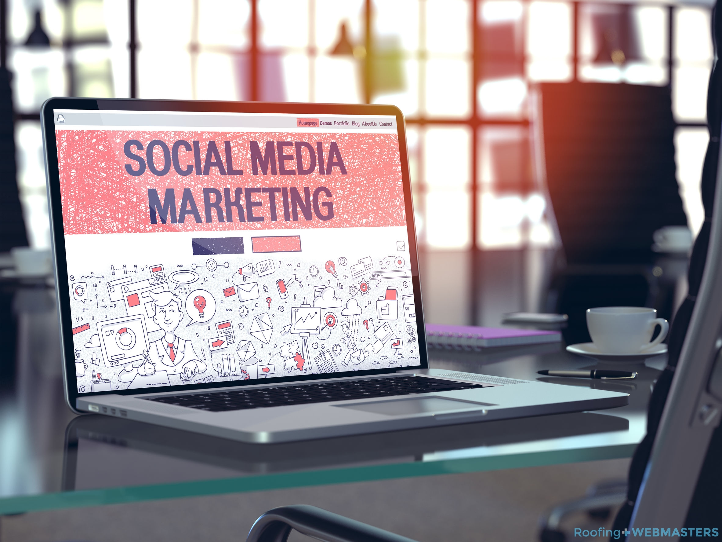 Social Media Marketing for Roofers