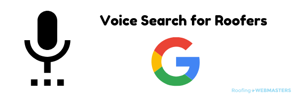 Voice Search for Roofers Graphic