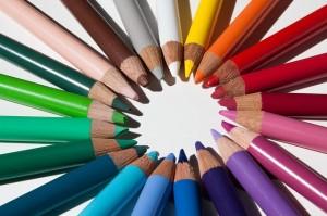 colored pencil design